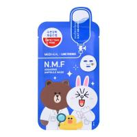 Тканевая маска Mediheal Line Friends NMF Aquaring Ampoule Facial Mask